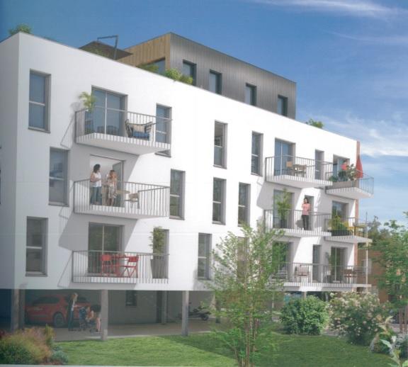 Appartement T3  avec loggia et parking