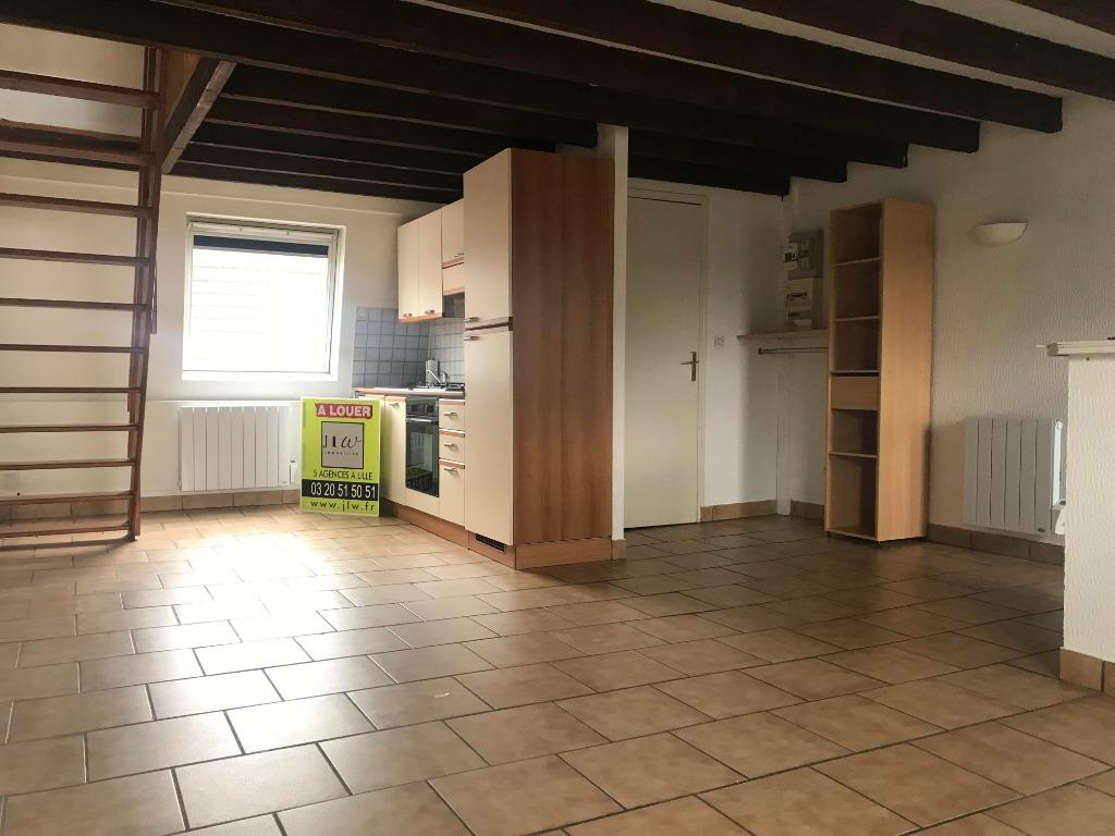 Location appartement 59130 Lambersart - Lambersart Canteleu - Type 2 de 38.73m² non meublé