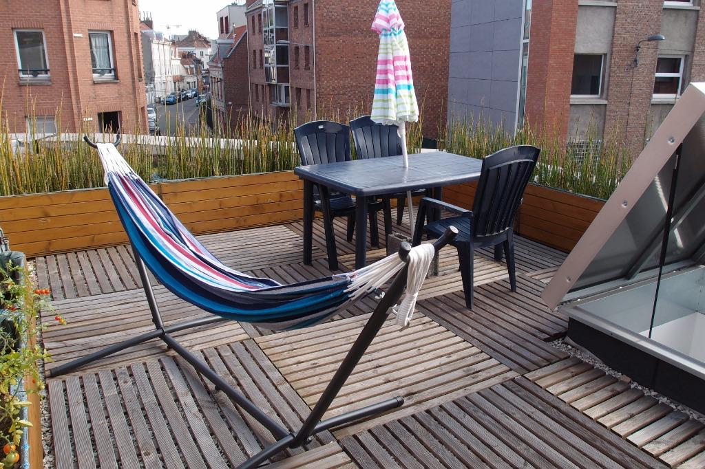 Vente appartement 59000 Lille - Exclusivité Gambetta - Type 2 avec garage et terrasse