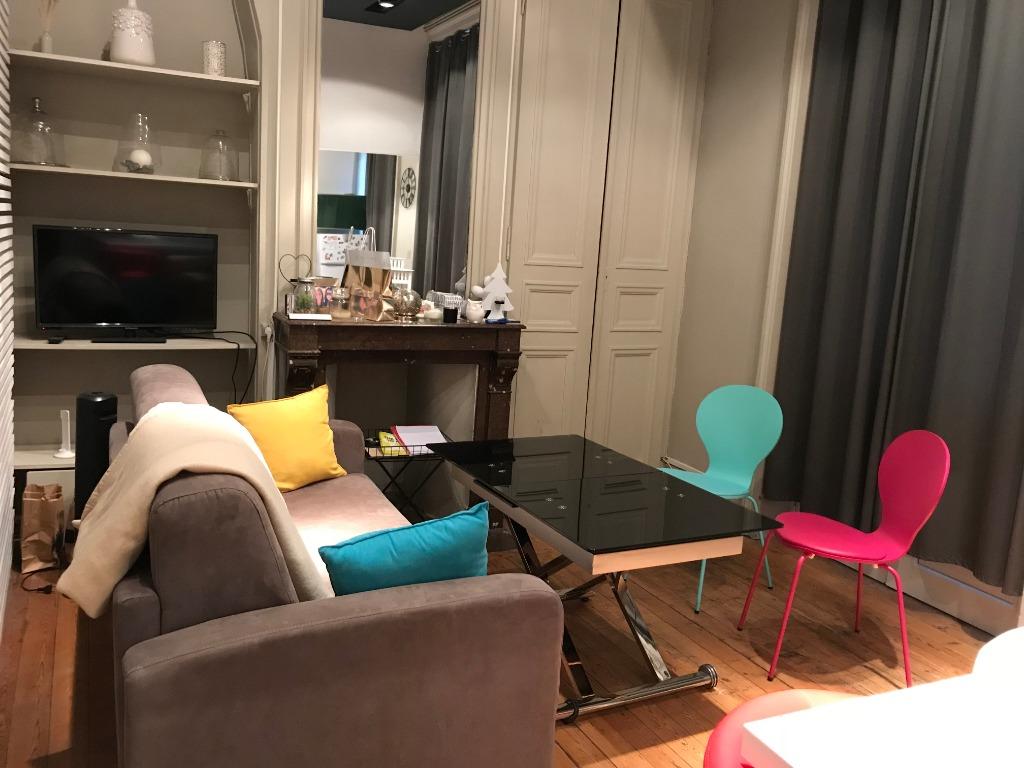 Vente appartement 59000 Lille - T1 bis avec balcon / Hyper centre
