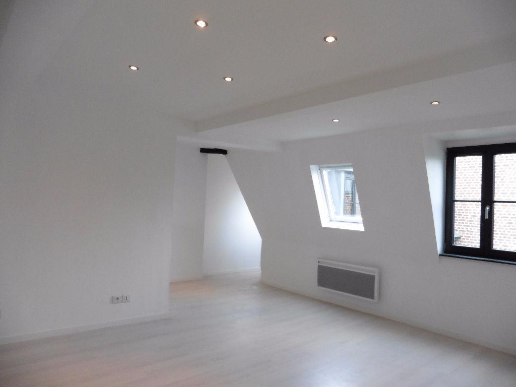 Location appartement 59000 Lille - Type 3 non meublé rénové - Vieux Lille