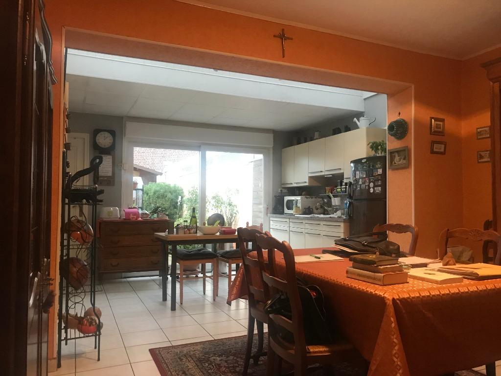 Vente maison 59320 Haubourdin - Maison trois chambres , bureau et jardin