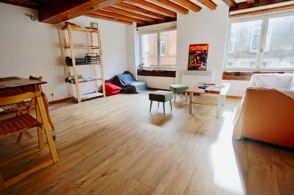 Vente appartement 59000 Lille - Vieux Lille / Type 3 / 65m2