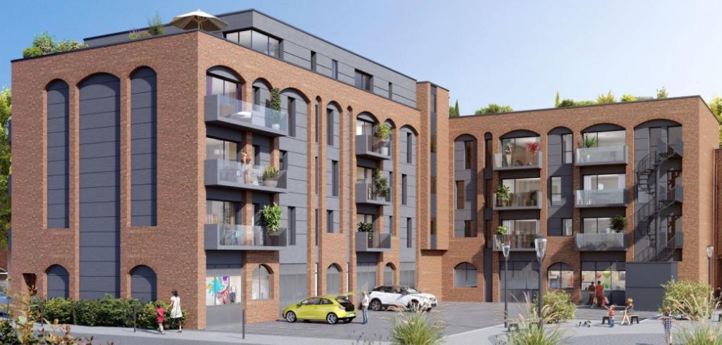 Vente appartement 59650 Villeneuve d ascq - Parc du Héron, T3 avec stationnement et terrasse, PINEL