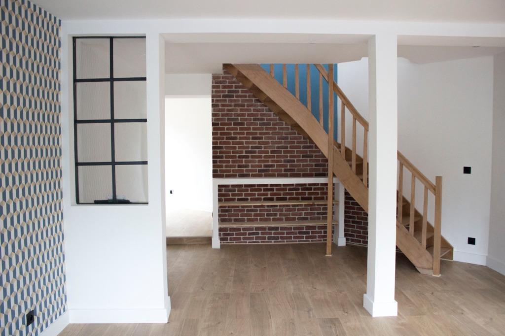 Vente maison 59350 St andre lez lille - Charmante maison entièrement rénovée 3 chambres