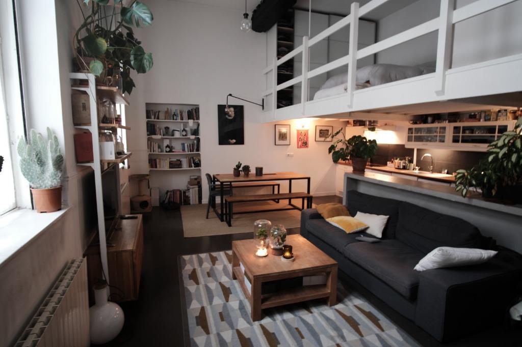 Vente appartement 59000 Lille - Vieux Lille Treille T2 duplex