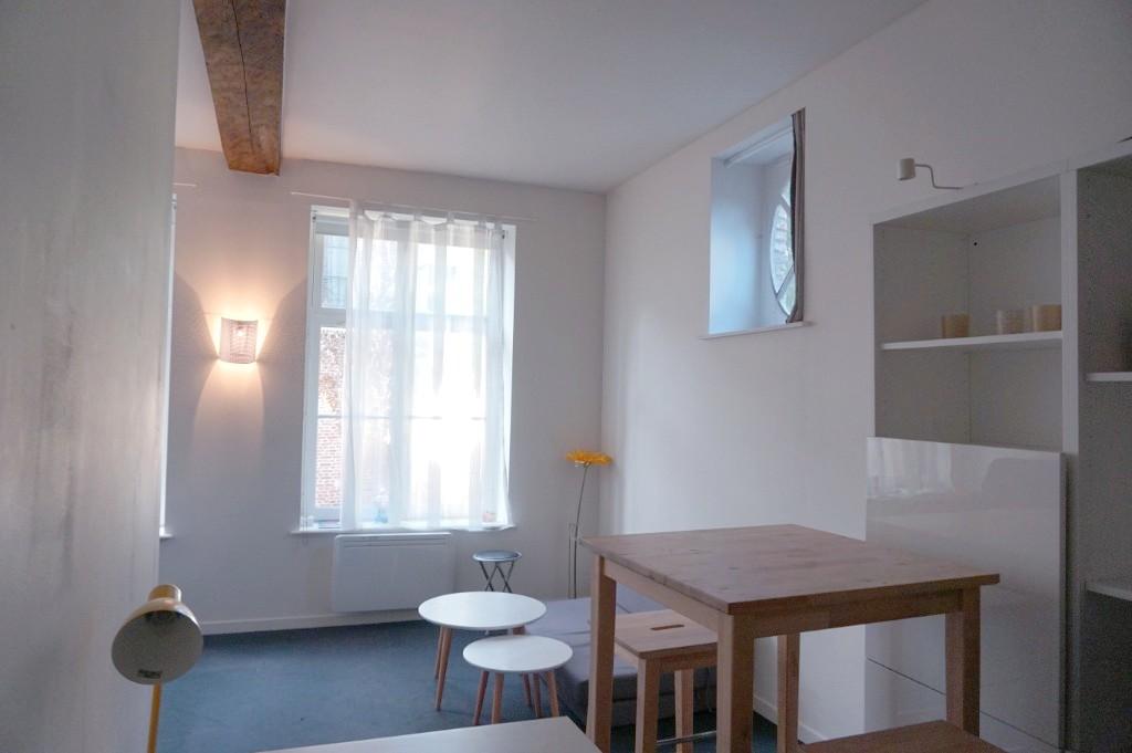 Location appartement 59000 Lille - CHARMANT STUDIO MEUBLE VIEUX LILLE
