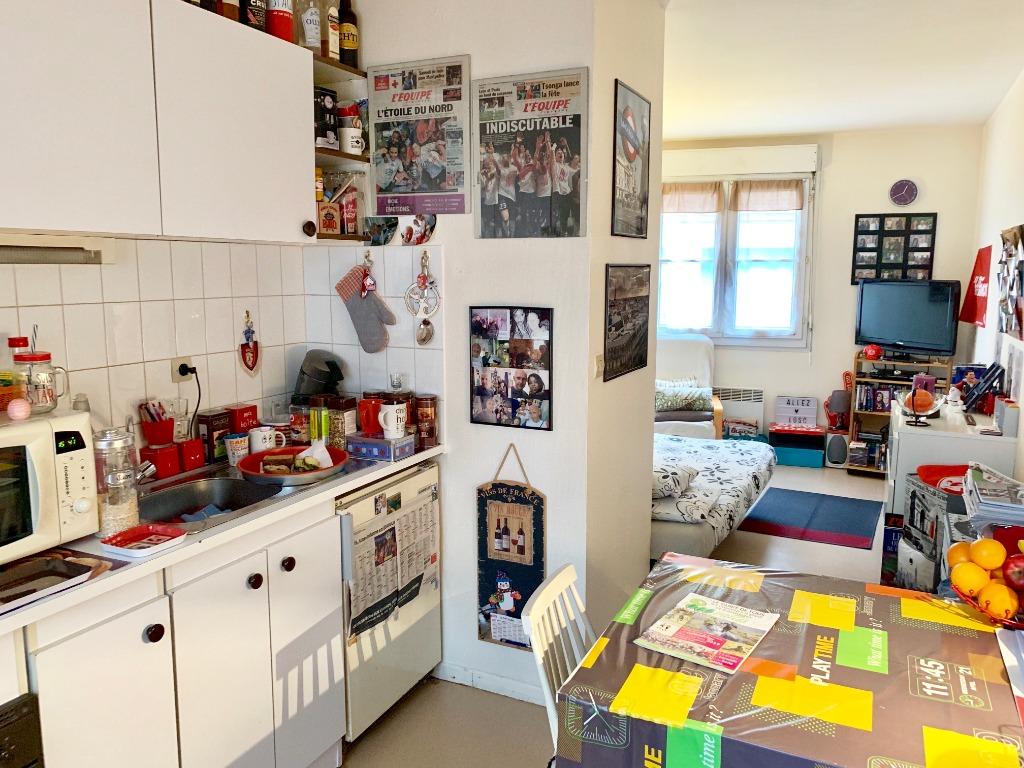 Vente appartement 59000 Lille - Studio vendu Loué Vieux Lille