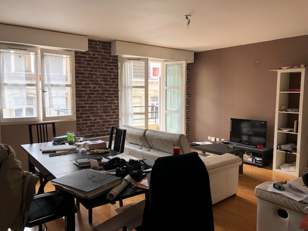 Vente appartement 59000 Lille - Appartement type 3 avec balcon et parking