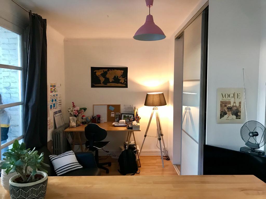 Vente appartement 59000 Lille - Vieux Lille - Type 1 bis avec balcon vendu loué