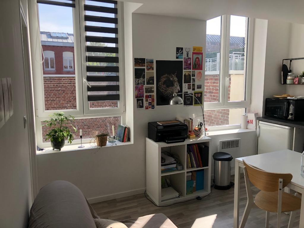 Vente appartement 59000 Lille - F1 Bis de belle qualité pour investissement, vendu loué