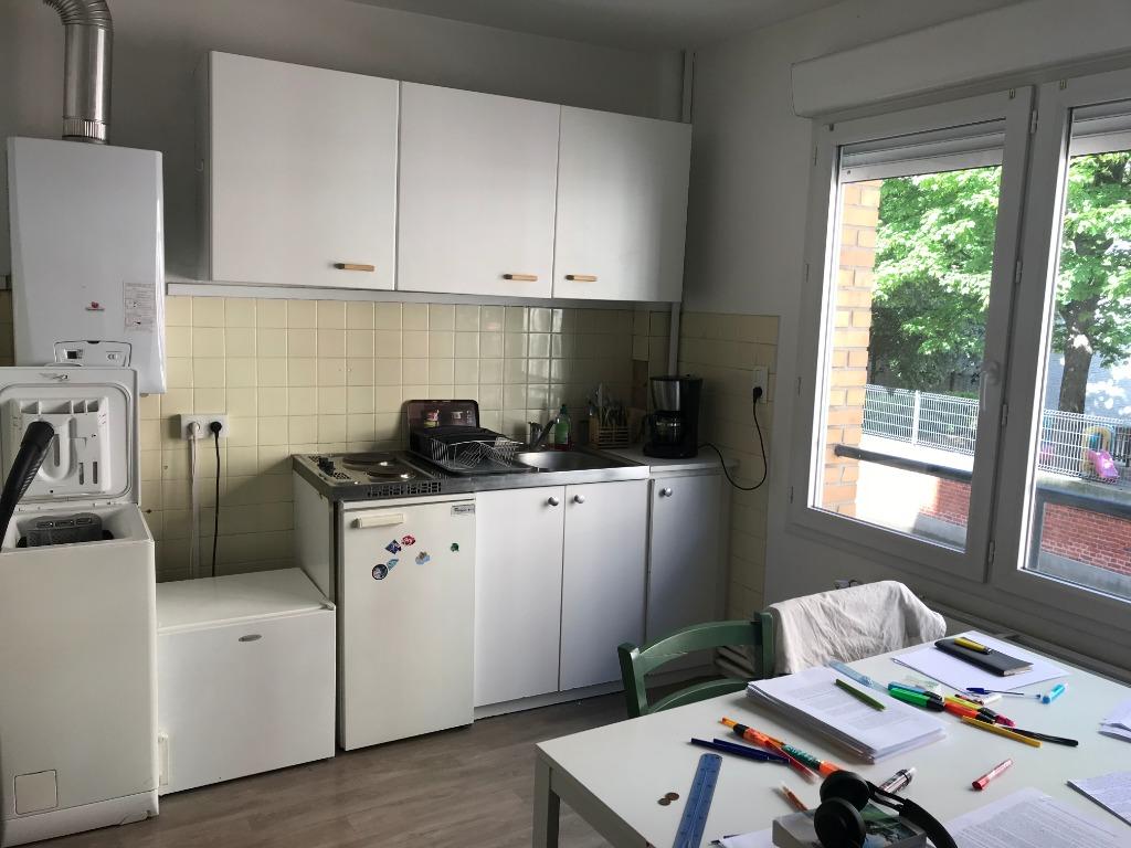 Location appartement 59000 Lille - Appartement de type 2 de 31m² - Cormontaigne