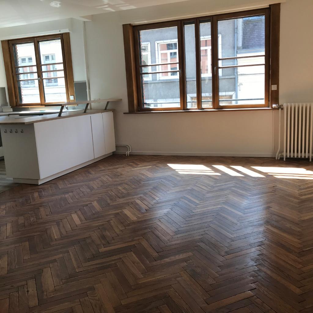 Location appartement 59000 Lille - Vieux Lille - 58m² - garage - extérieur - non meublé