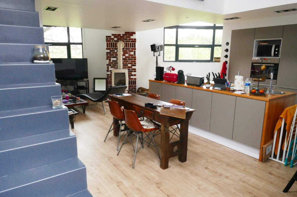 Vente appartement 59390 Lys lez lannoy - Loft avec cour et parking