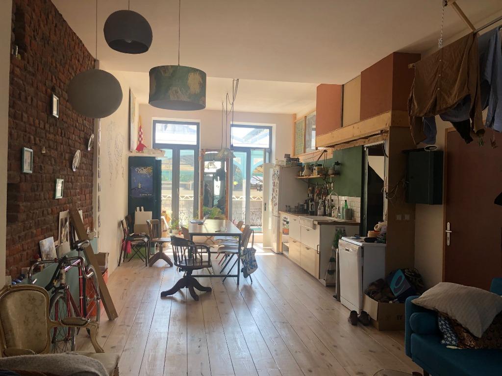 Vente appartement 59000 Lille - T2 bis avec terrasse