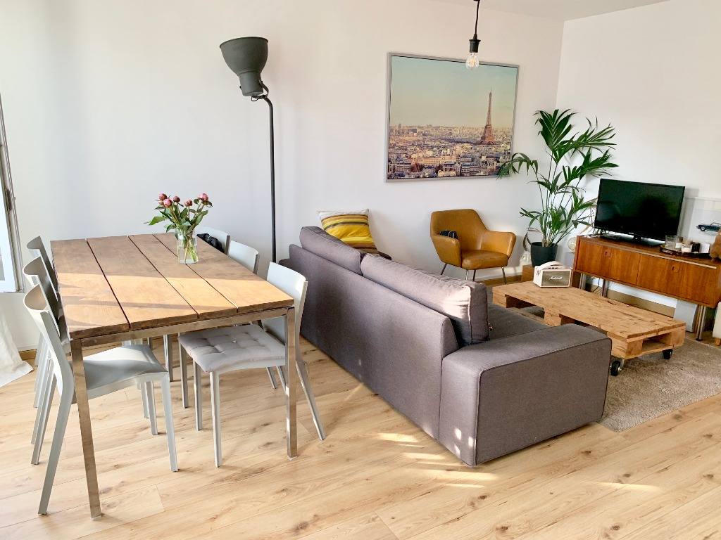 Vente appartement 59000 Lille - T2 - 47m2 - Terrasse et parking