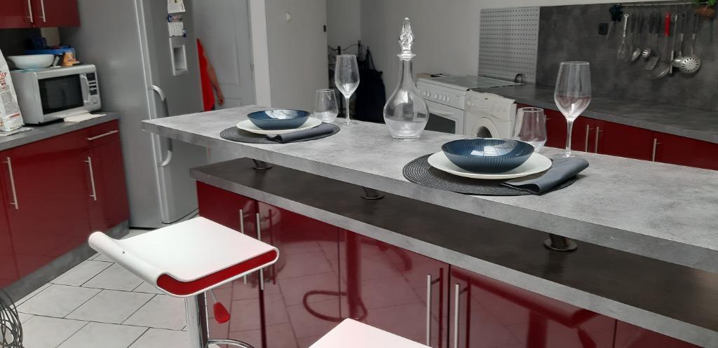 Vente maison 59160 Lomme - spacieuse 1930 2 ch +bureau avec garage et petit extérieur