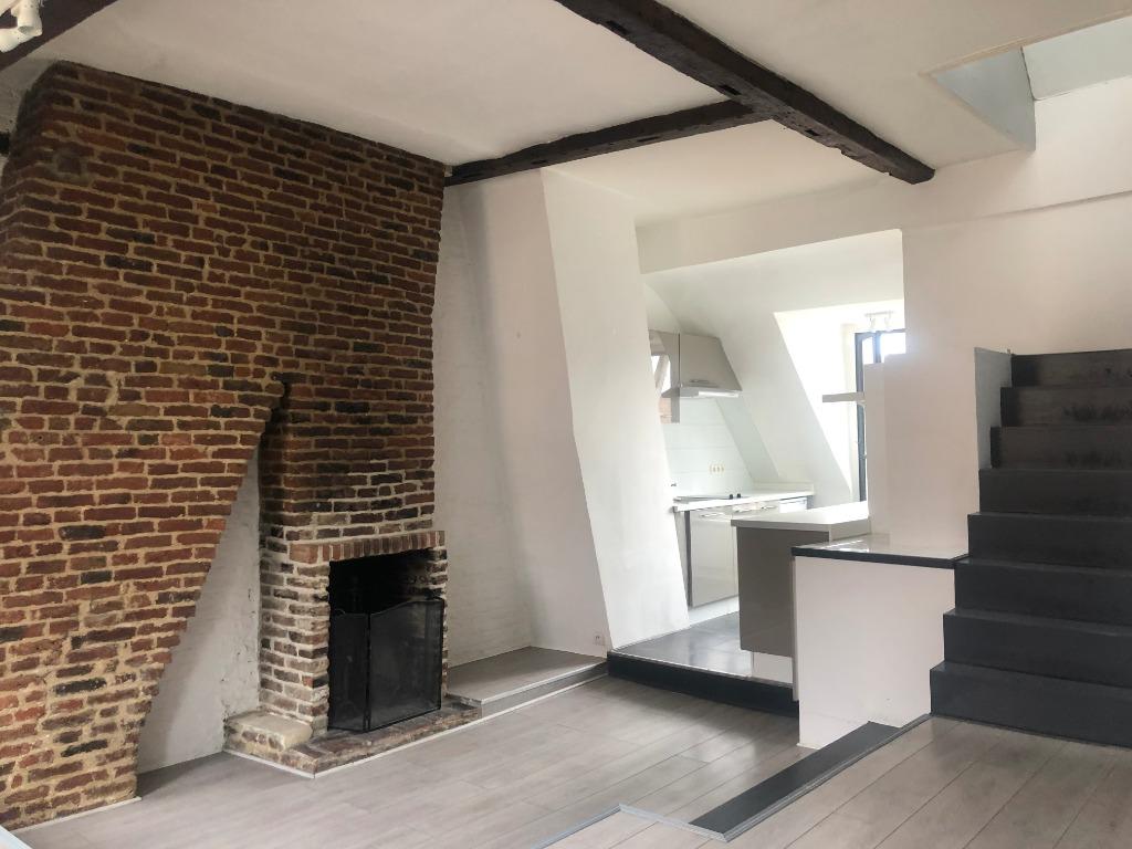 Vente appartement 59000 Lille - T2 duplex Vieux Lille
