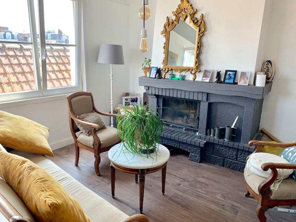 Vente appartement 59000 Lille - Superbe appartement type 4 en duplex