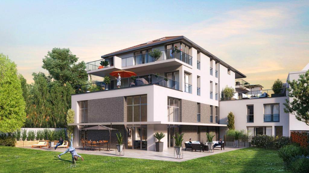 Vente appartement 59700 Marcq en baroeul - APPARTEMENT MARCQ EN BAROEUL PROGRAMME NEUF DE STANDING