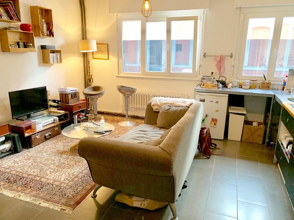 Vente appartement 59000 Lille - T2 parking Vieux Lille