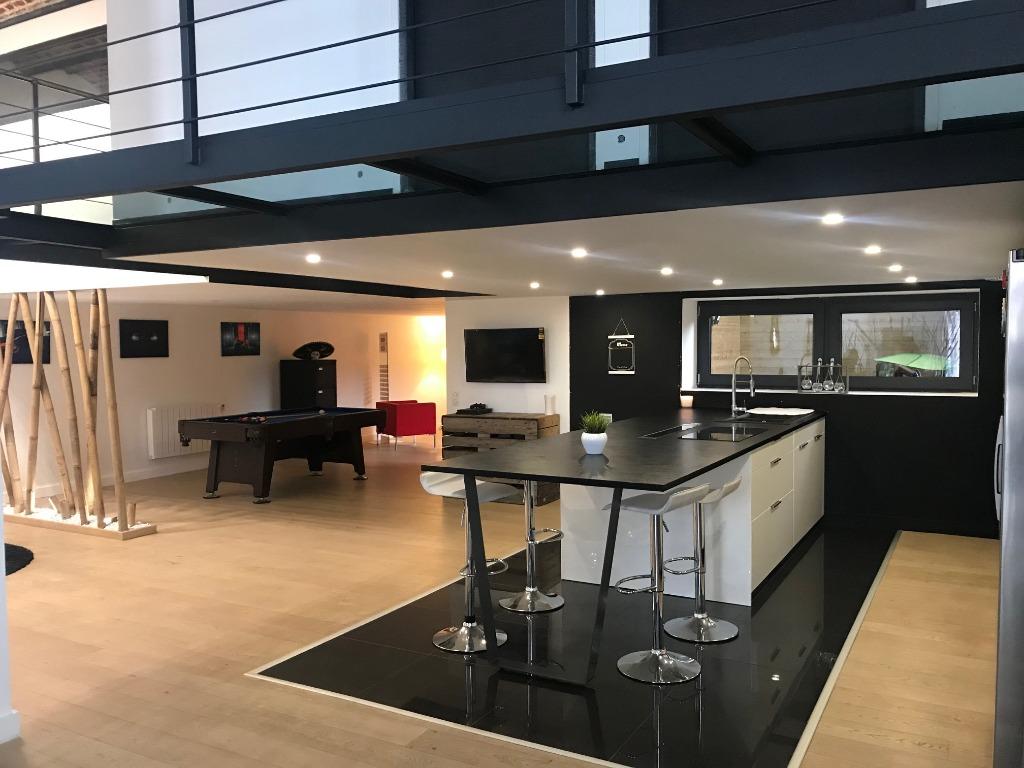 Vente appartement 59200 Tourcoing - Superbe LOFT à Tourcoing
