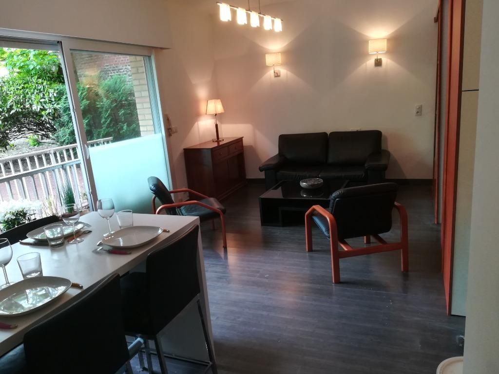 Location appartement 59110 La madeleine - Appartement T1 bis meublé - Avenue République