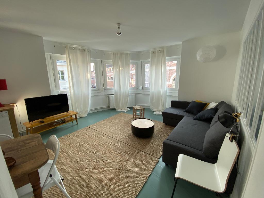 Location appartement 59000 Lille - Magnifique T2 meublé entièrement rénové Vieux Lille