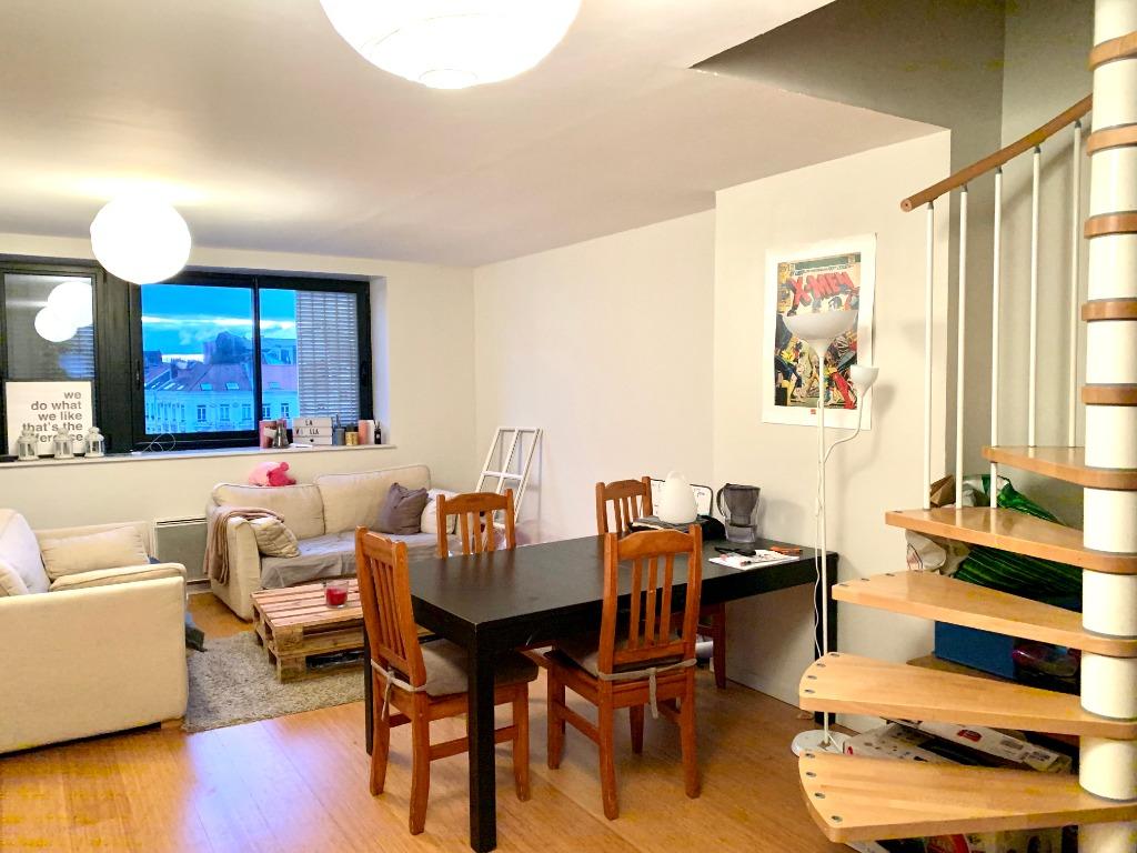 Vente appartement 59000 Lille - APPARTEMENT T4 DUPLEX LILLE CENTRE PARKING