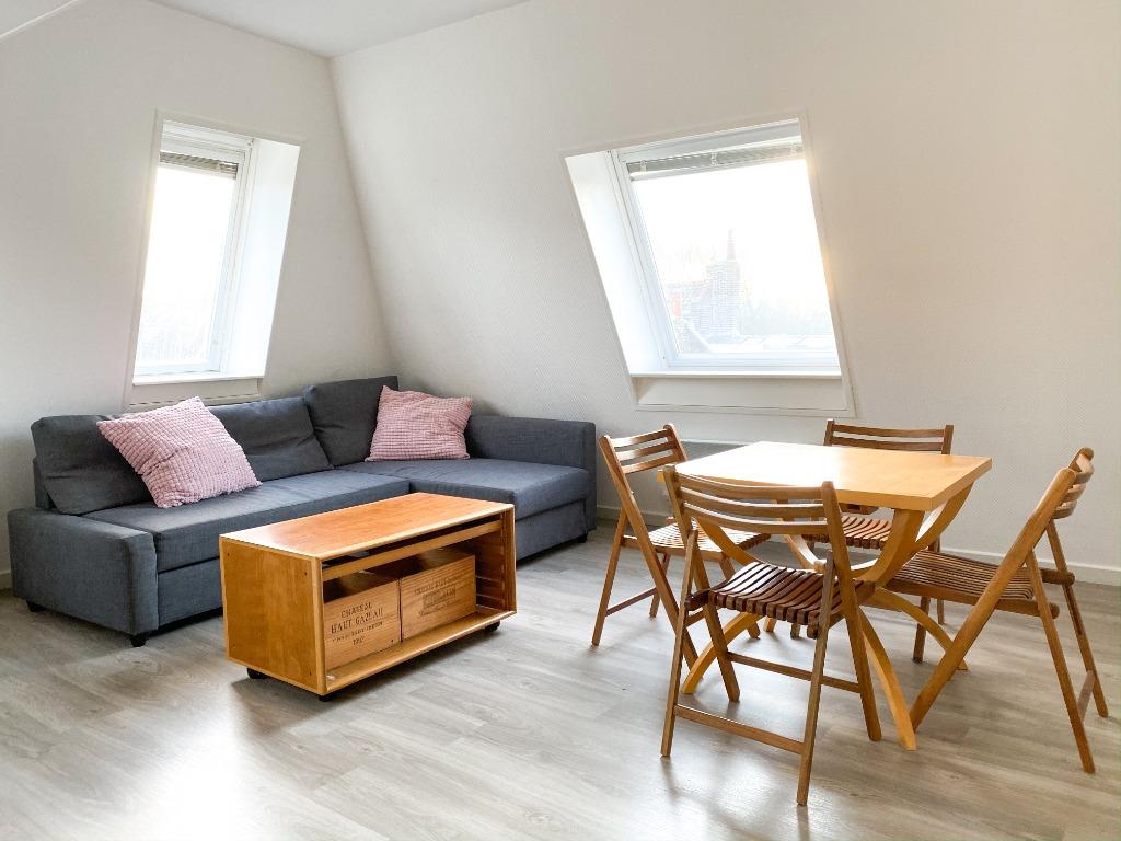 Location appartement 59000 Lille - Appartement type 2 meublé Vieux Lille avec cave et parking