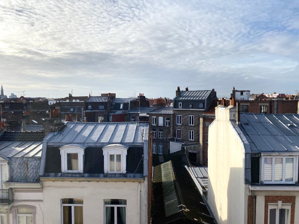 Vente appartement 59000 Lille - Lille centre T4 terrasse et double parking