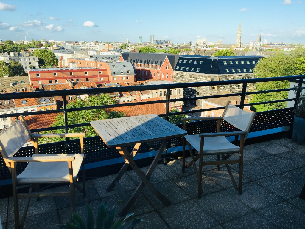 Location appartement 59000 Lille - Magnifique T2 meublé vue dégagée secteur Vauban