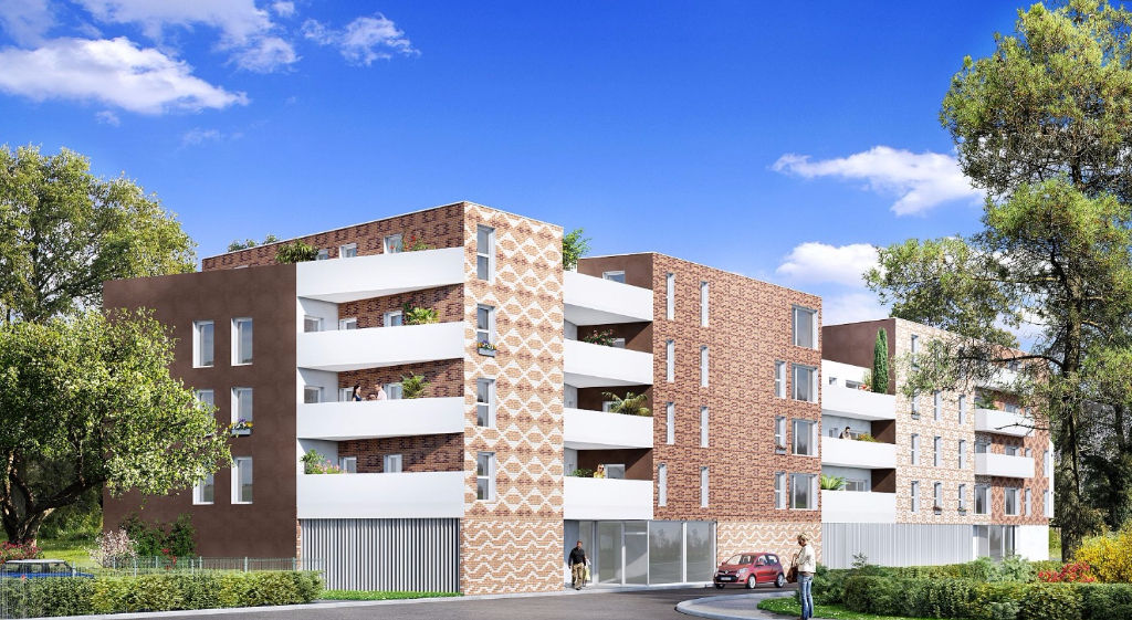 Vente appartement 59160 Lomme - T3 neuf LOMME