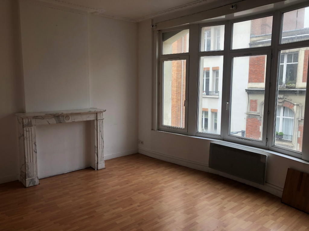 Vente appartement 59000 Lille - Grand T2 Hyper centre