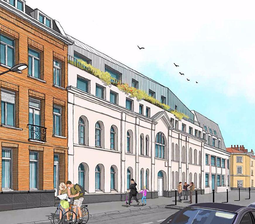 Vente appartement 59000 Lille - Lille Vauban Gambetta - Rés. LE CLOITRE - T2 neuf + sous-sol
