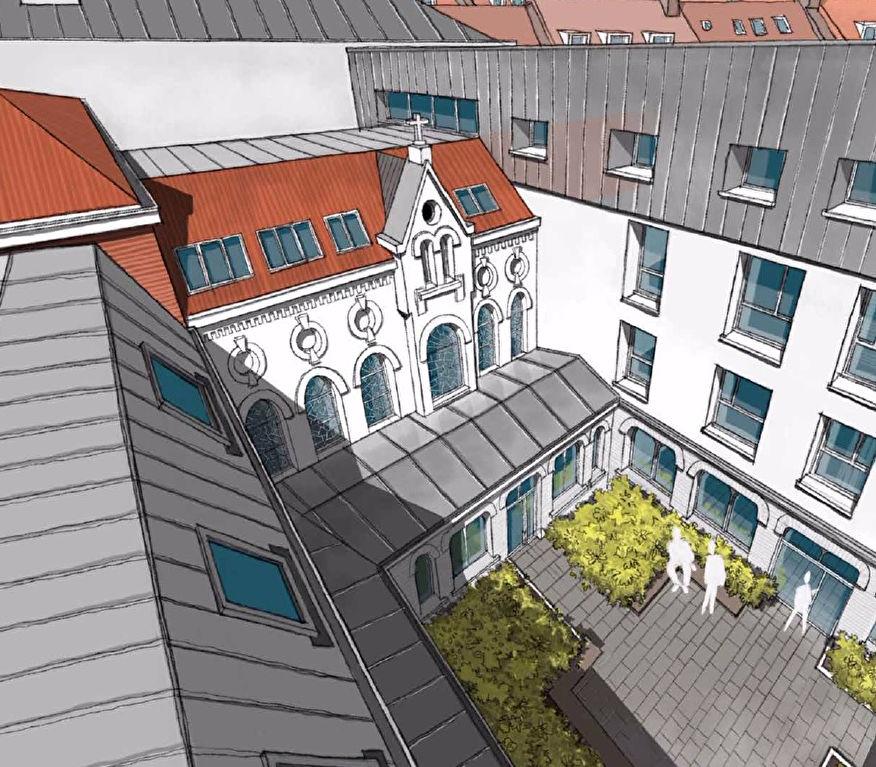 Lille Vauban Gambetta - Rés. LE CLOITRE - T3+bureau