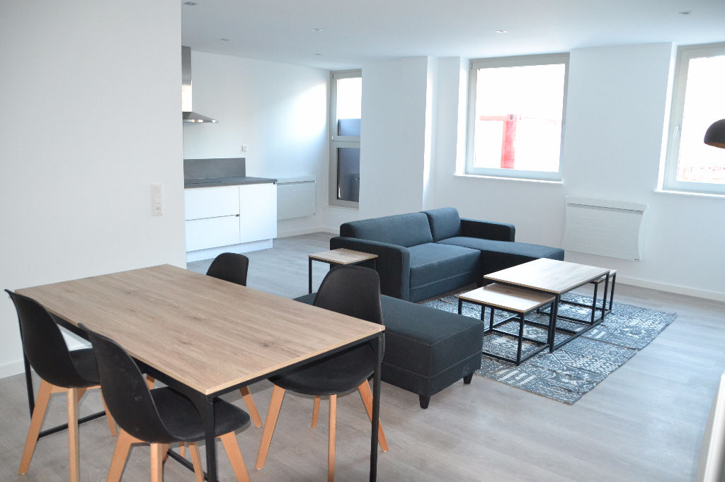 Vente appartement 59000 Lille - T4 Neuf