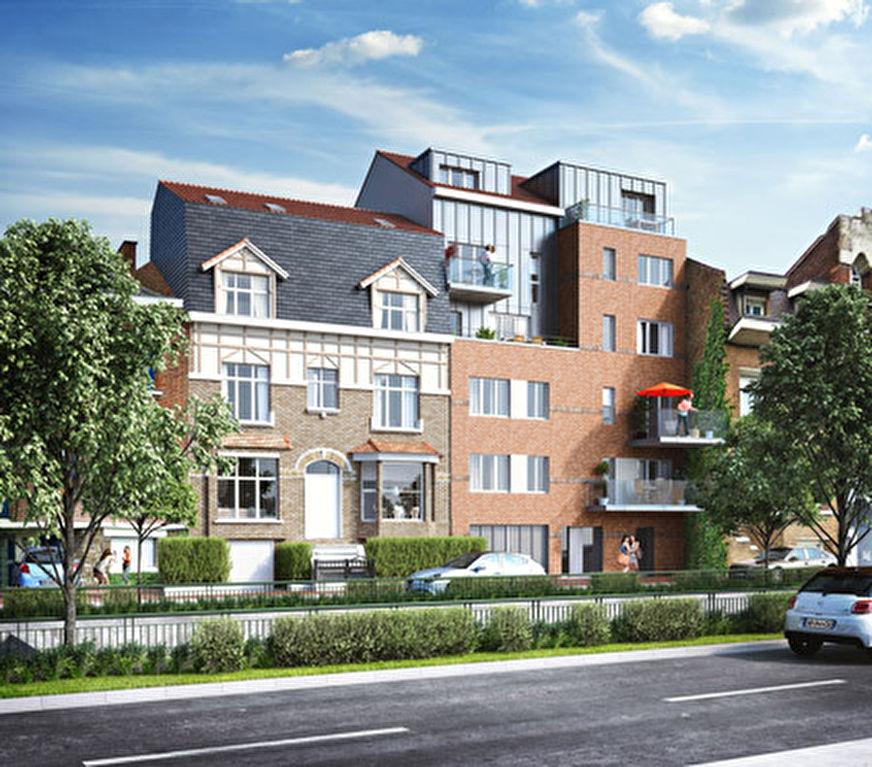 Vente appartement 59700 Marcq en baroeul - Type 3 Neuf éligible PINEL MARCQ EN BAROEUL