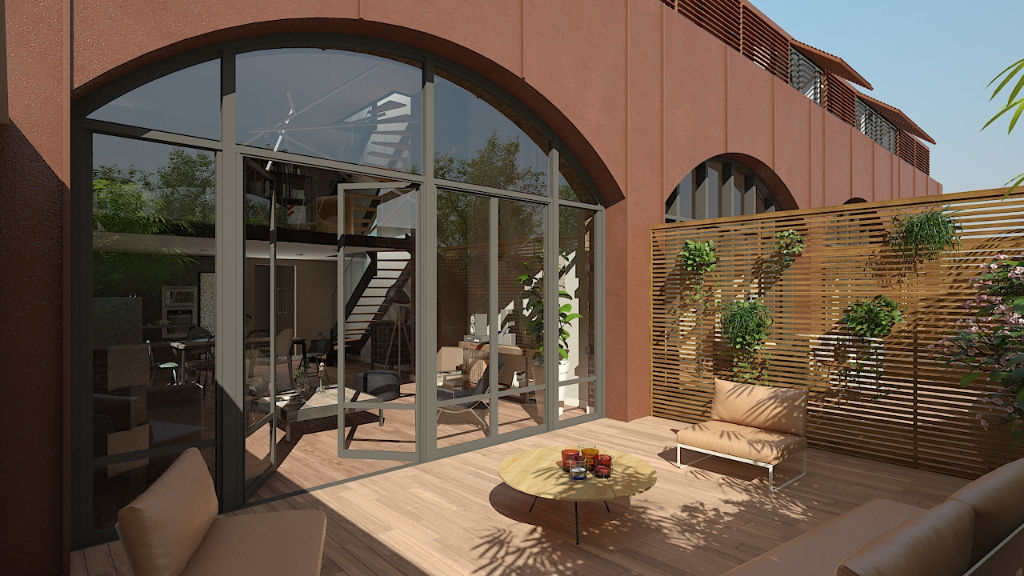 Vente appartement 59000 Lille - Loft  incroyable avec terrasse et double stationnement au sein d'une residence de standing