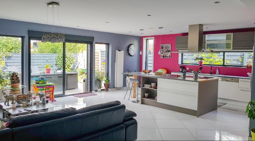 Vente maison 59139 Wattignies - Maison 105m² avec jardin