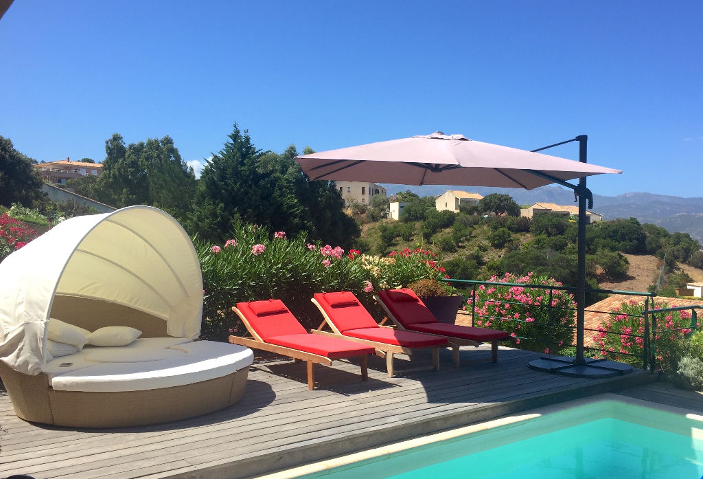 Villa Corse vue mer - Piscine