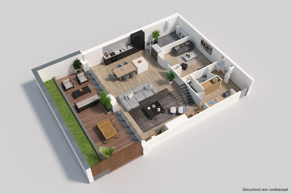 Loft  incroyable avec terrasse et double stationnement au sein d'une residence de standing