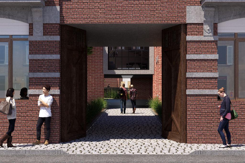 Vente maison 59000 Lille - Maison 2 chambres avec jardin exposition sud et parking privatif