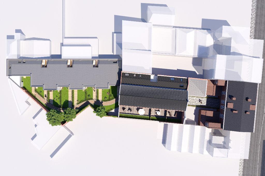 Maison 2 chambres avec jardin exposition sud et parking privatif