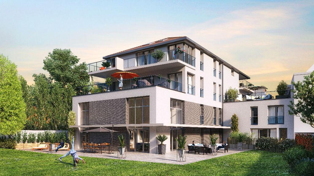 Vente appartement 59700 Marcq en baroeul - Appartement neuf type 2 avec loggia et parking
