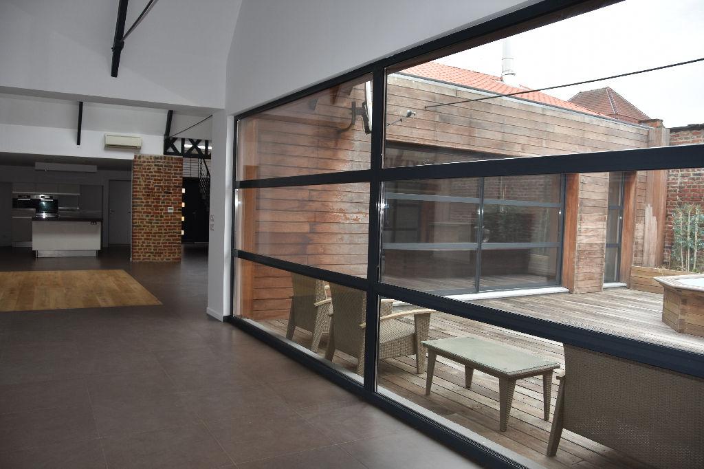 Vente maison 59170 Croix - Loft 291 m² avec terrasse