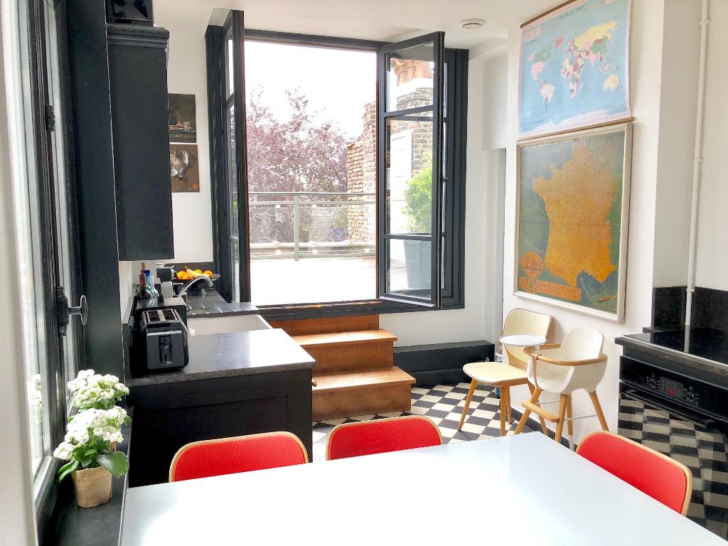 Cachet à Botanique - appartement T5 terrasse