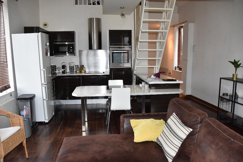 Vente appartement 59160 Lomme - T3 Bis Duplex