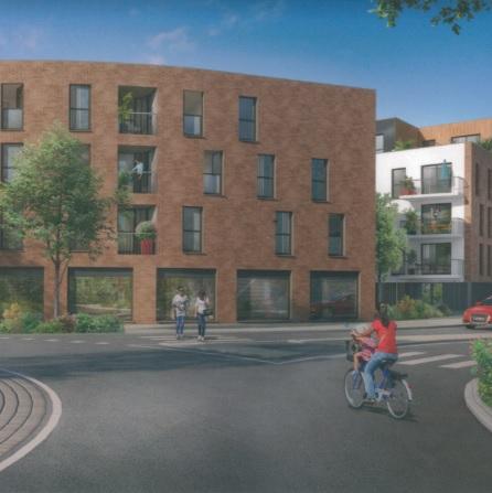Vente appartement 59320 Haubourdin - TYPE 4 avec extérieur et parkings