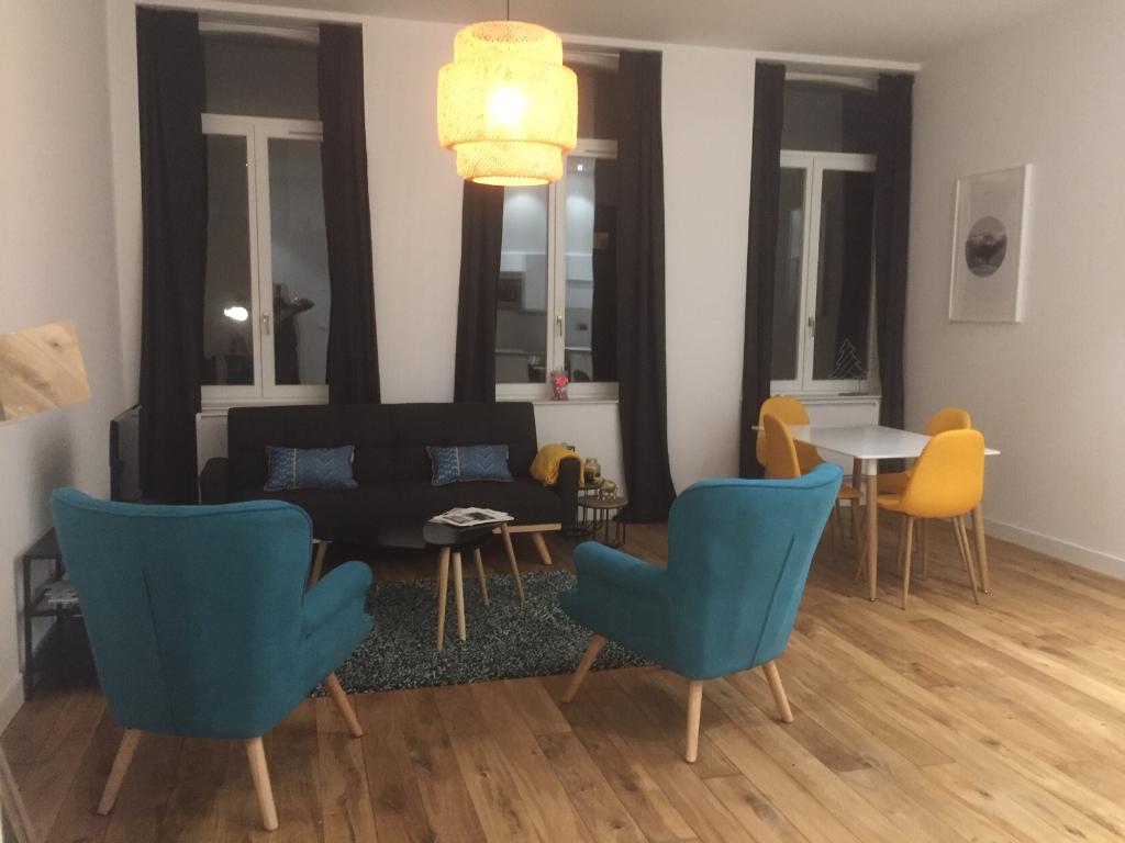 Vente appartement 59000 Lille - T3 place Philippe Lebon